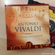 CDs de Música: VIVALDI, LAS CUATRO ESTACIONES, LA CAJA DE MÚSICA EDITADO POR CAJA CANTABRIA (NM_NM). Lote 240446275