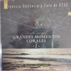 CDs de Música: ORQUESTA SINFONICA Y CORO DE RTVE GRANDES MOMENTOS CORALES 2. Lote 240678285
