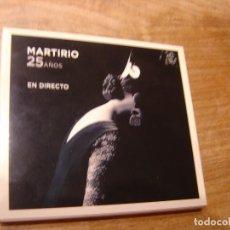 CDs de Música: CD. MARTIRIO. 25 AÑOS. EN DIRECTO. 2009. EXCELENTE CONDICIÓN.. Lote 240705450