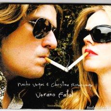 CDs de Música: NACHO VEGAS Y CHRISTINA ROSENVINGE VERANO FATAL LIMBO STARR CD 2007. Lote 240731140