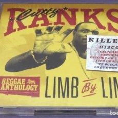 CDs de Música: CUTTY RANKS - LIMB BY LIMB - 2X CD RECOPILATORIO. Lote 240827845