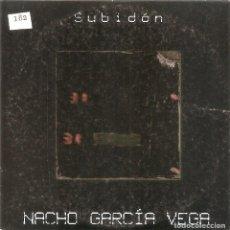 CDs de Música: NACHO GARCIA VEGA - SUBIDON (CDSINGLE CARTON PROMO, ROMPEOLAS RECORDS 2001). Lote 240893965
