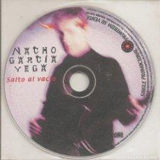 CDs de Música: NACHO GARCIA VEGA - SALTO AL VACIO (CDSINGLE PICTURE PROMO, ROMPEOLAS RECORDS 2001). Lote 240894310