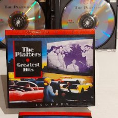 CDs de Música: THE PLATTERS / GREATEST HITS / BOX-SET DOBLE CD - RETRO / 36 TEMAS / DE LUJO.. Lote 240905745