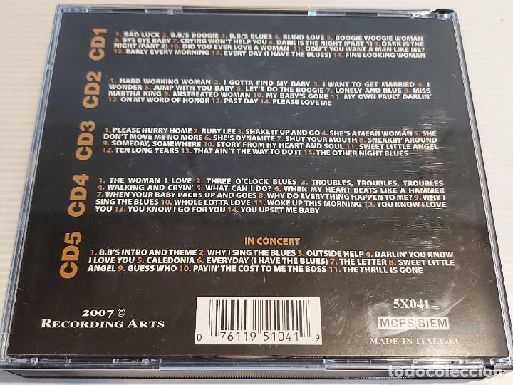 CDs de Música: B.B. KING / ANTHOLOGY / BOX-SET / 5 CDS / 67 TEMAS / DE LUJO. - Foto 2 - 241009360