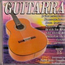 CDs de Música: GUITARRA PEDRO JAVIER GONZALEZ 2 CDS. Lote 241079435