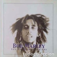 CDs de Música: BOB MARLEY - SUS 20 GRANDES ÉXITOS (CD, COMP) LABEL:BRISA RECORDS CAT#: CDB1423. Lote 241111650