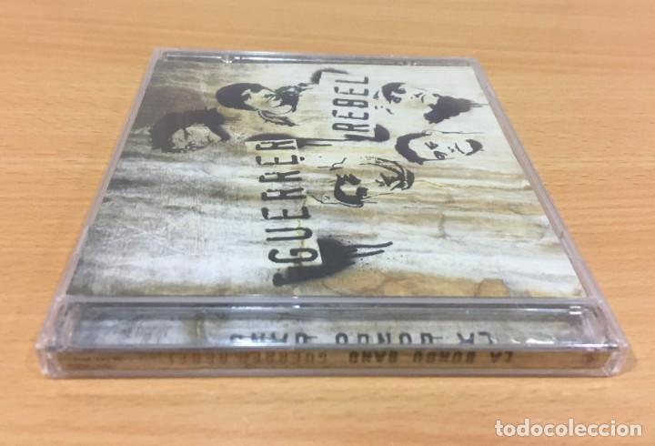 CDs de Música: CD LA BUNDU BAND - GUERRA REBEL. QUIMERA RECORDS, 2010. PRECINTADO - Foto 2 - 241147965