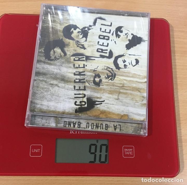 CDs de Música: CD LA BUNDU BAND - GUERRA REBEL. QUIMERA RECORDS, 2010. PRECINTADO - Foto 4 - 241147965