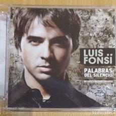 CDs de Música: LUIS FONSI (PALABRAS DE SILENCIO) CD + DVD 2008 DELUXE EDITION. Lote 241279125