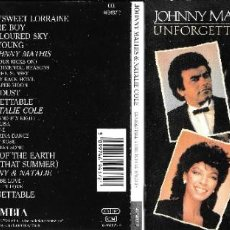CDs de Música: JOHNNY MATHIS - UNFORGETTABLE WITH SPECIAL GUEST NATALIE COLE. Lote 241299715