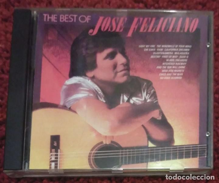 JOSE FELICIANO (THE BEST OF JOSE FELICIANO) CD 1990 (Música - CD's Melódica )