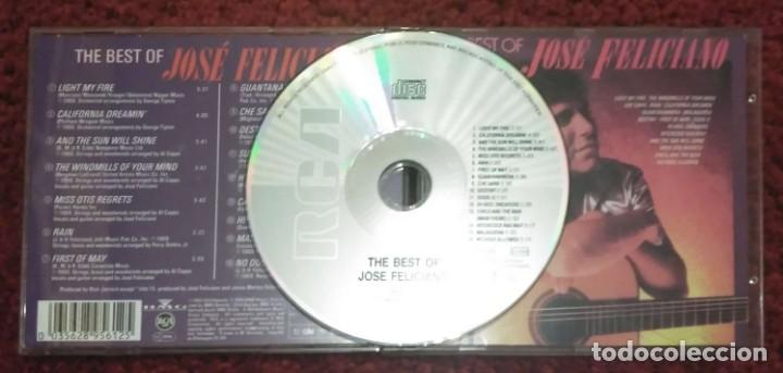 CDs de Música: JOSE FELICIANO (THE BEST OF JOSE FELICIANO) CD 1990 - Foto 3 - 241312100