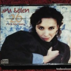 CDs de Música: ANA BELEN (26 GRANDES CANCIONES Y UNA NUBE BLANCA) 2 CD'S 1989 - 1ª EDICIÓN. Lote 241312855