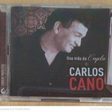 CDs de Música: CARLOS CANO (UNA VIDA DE COPLA) CD + DVD 2006. Lote 241314635
