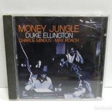 CD de Música: DISCO CD. DUKE ELLINGTON, CHARLIE MINGUS, MAX ROACH – MONEY JUNGLE. COMPACT DISC.. Lote 241382615