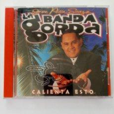 CDs de Musique: CD - LA BANDA GORDA - CALIENTA ESTO. Lote 241405405