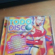 CD de Música: RAR 2 CD'S. TODO DISCO. VERSIONES MAXI. KANO, SANDY MARTON, BABY'S GANG. Lote 241421470