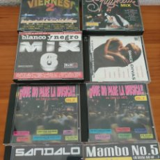 CDs de Musique: CDS DISCO, DANCE, BLANCO Y NEGRO MIX, POR FIN ES VIERNES, QUE NO PARE LA MÚSICA, SPAGHETTI MIX.... Lote 241459085