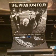 CDs de Música: THE PHANTOM FOUR - PARA NUESTROS AMIGOS ESPAÑOLES (2014) SURF MUSIC PROMO SURF-O-RAMA. Lote 241485510