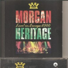 CDs de Música: MORGAN HERITAGE - LIVE IN EUROPE 2000 (CD, HEART BEAT 2000). Lote 241527170