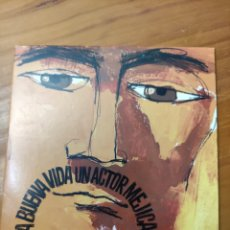 CD de Música: CD SINGLE LA BUENA VIDA. UN ACTOR MEXICANO. Lote 241537085