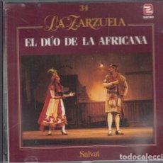 CDs de Música: EL DUO DE LA AFRICANA - MANUEL FERNANDEZ CABALLERO - COLECCION LA ZARZUELA NUMERO 34 - CD. Lote 241655655