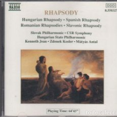 CDs de Música: RHAPSODY - GEORGE ENESCU - CD. Lote 241679485