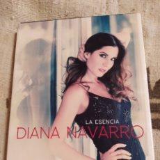 CDs de Música: DIANA NAVARRO–LA ESENCIA. 2 × CD, COMPILATION,DIGIPAK, SPECIAL EDITION DVD, DVD-VIDEO.. Lote 241738160