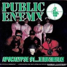 CDs de Música: PUBLIC ENEMY - APOCALYPSE 91. Lote 241751905