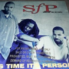 CDs de Música: CD - SOMETHING' FOR THE PEOPLE - THIS TIME IT'S PERSONAL - PROMO - MADE IN USA - SFP - TIS TIME. Lote 241752415