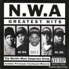 CDs de Música: N.W.A. - GREATEST HITS. Lote 241752565