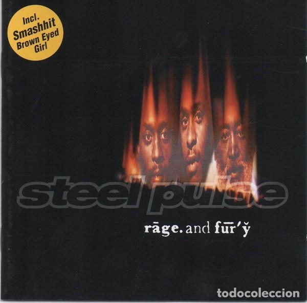STEEL PULSE - RAGE AND FURY (Música - CD's Reggae)