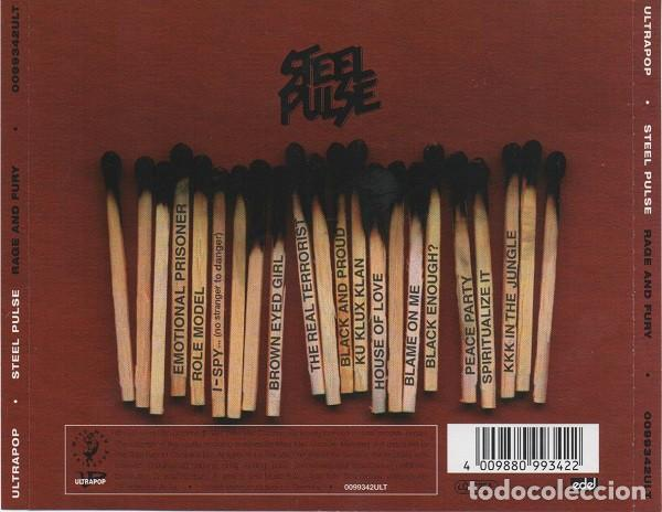 CDs de Música: Steel Pulse - Rage and Fury - Foto 2 - 241763605