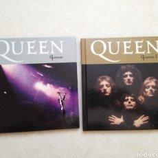 CDs de Música: LOTE DE 2 LIBROS + CD ( QUEEN ). Lote 241796180