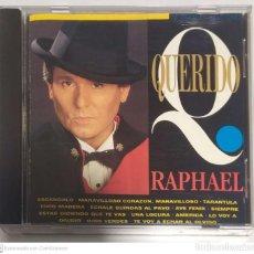 CDs de Musique: RAPHAEL (QUERIDO RAPHAEL) CD 1993. Lote 241799460