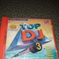 CDs de Música: CD TOP DJ 3,SELECCIÓN MEJORES DISCOTECAS. Lote 241808245