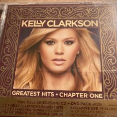 CDs de Música: KELLY CLARKSON. GRANDES EXITOS. CHAPTER ONE. CD + DVD. Lote 241815530