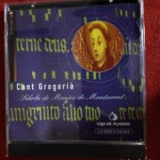 CDs de Música: CANT GREGORIÁ -SCHOLA DE MONJOS DE MONTSERRAT - CD. Lote 241819035