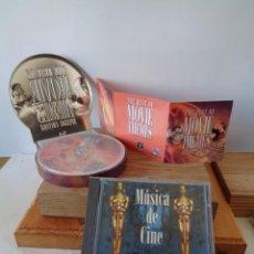 CDs de Música: ¡¡ LOTE : MUSICA DE CINE, THE BEST OF MOVIE THEMES. ESPECIAL EDITION. 4 CD. !!. Lote 241863390
