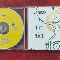 CDs de Musique: MADONNA - LIKE A PRAYER *3 - 7599 21189-2 - CD SINGLE GERMANY YELLOW SERIES. Lote 241873085