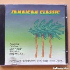 CDs de Música: JAMAICAN CLASSIC MUSIC GLOBE RECORDS (CD) 1998. Lote 241956695