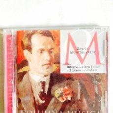 CDs de Música: CD - MONTSALVATGE - INTEGRAL PIANO/VIOLÍN Y CHELO. Lote 242134880