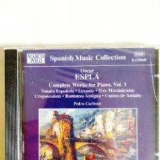 CDs de Música: ESPLÁ - INTEGRAL DE PIANO - VOL. I. Lote 242135315