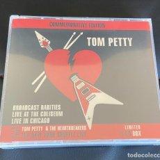 CDs de Música: TOM PETTY COMMEMORATIVE EDITION 5CD BOX CAJA PRECINTADO. Lote 242267740