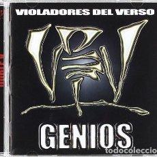 CDs de Música: VIOLADORES DEL VERSO - GENIOS. Lote 242271630