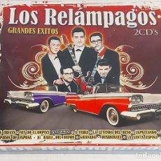 CDs de Música: LOS RELÁMPAGOS / GRANDES ÉXITOS / DOBLE CD - OK RECORDS-2008 / 24 TEMAS / NUEVO Y PRECINTADO.. Lote 242271945