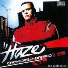 CDs de Música: HAZE - CRÓNICAS DEL BARRIO. Lote 242272495