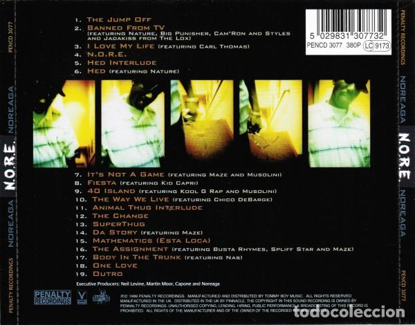 CDs de Música: N.O.R.E. - Noreaga - Foto 2 - 242274640