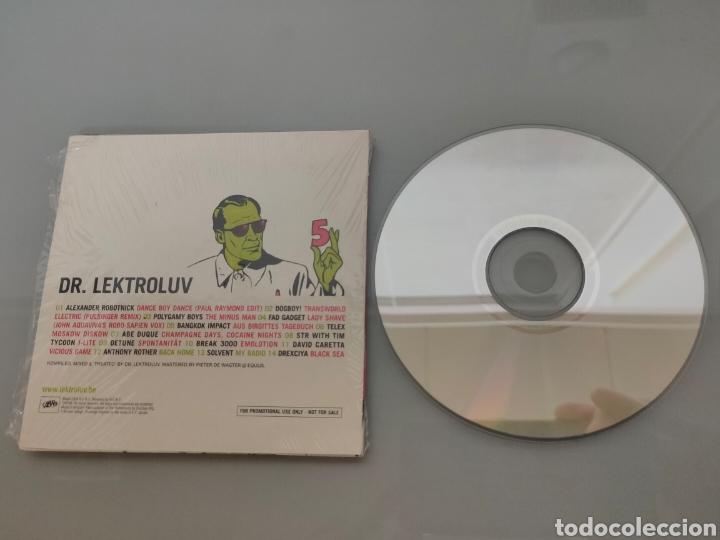 CDs de Música: CD DR. LEKTROLUV 5 PROMOCIONAL 2004 - Foto 4 - 242304445